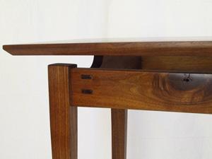 KeeberCustomWoodcraft Sedona Arizona Handrafted Furniture  Cabinetry Hall Table